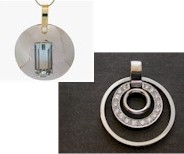 Trendy circle pendants