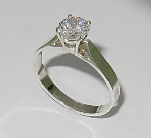 Jewelry Tutorial Making Solitaire Ring Tiffany Style