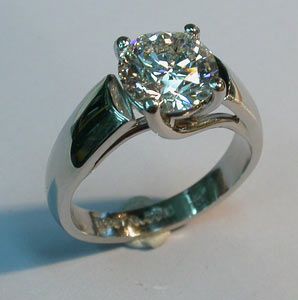 How to make a platinum ring for What is platinum jewelry made of